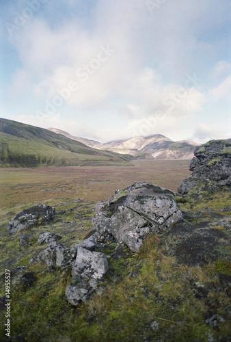 Rocky mountainous landscape