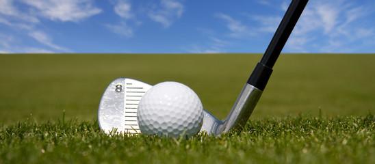 Golf - Werbebanner