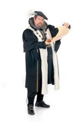 Man Shakespeare imitator