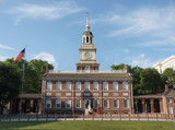 Independence Hall North Side poster