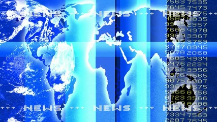 Nachrichtenhintergrund Blau