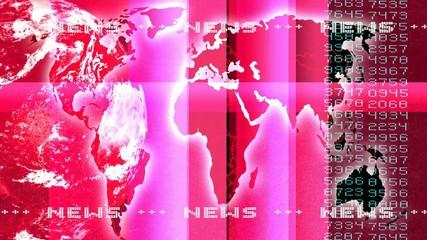 Nachrichtenhintergrund lilarot