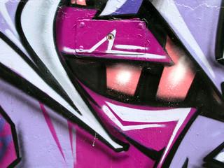 segment of graffiti