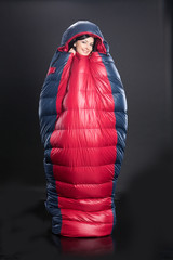 Woman In the Sleeping Bag