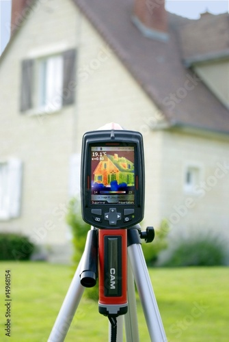 Bilan thermique avec caméra thermique
