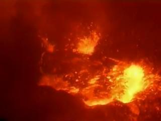 lava lake volcano puoo hawai