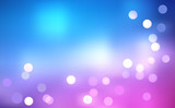 Vector Defocus Rainbow  Blurry Light  Background - Bokeh poster
