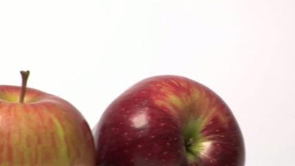 carrellata su dettagli di mele
