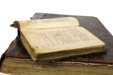 an old book is Psalter