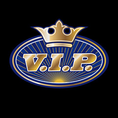v.i.p. emblem