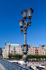 Laterne in Stockholm