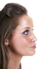 Girl's profile