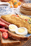 big breakfast meal poster