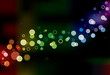 Abstract Vector Lights. Background Collection.