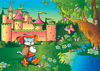 Fairy tale. Puss in Boots