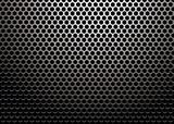 hexagon metal poster