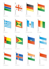 Flag icon set (part 5)