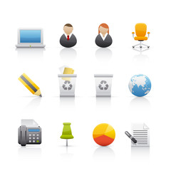 Icon Set - Internet and Comunications