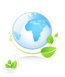 ecology icon. green concept
