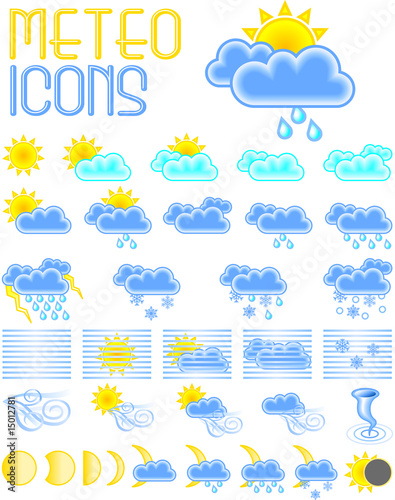 Photo: METEO icons © Hellen #