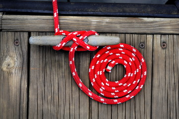 Red Boat Rope