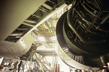 Aircraft maintenance, Melbourne, Australia