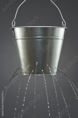 Water leaking from bucket