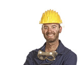 young labourer portrait poster