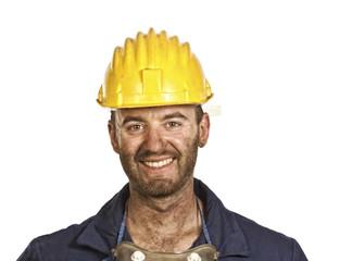 heavy industry worker portrait