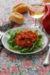 ������, ������: Salmone marinato su letto di insalatina Veneto