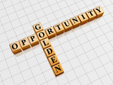 golden opportunity like crossword poster