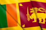 Flag of Sri Lanka poster