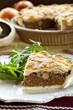 Mushroom and Meat Pie