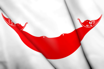 Flag of Easter Island (CHILE)