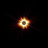 Solar Flare Star Burst poster