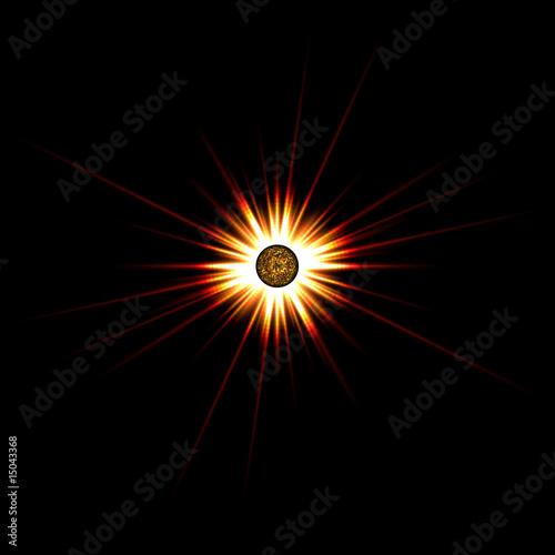 poster of Solar Flare Star Burst