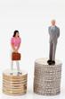 Gleichstellungs Unterschiede im Gehalt