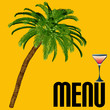 Tropical Cocktail Menu Template