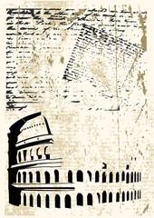 Colosseum Grunge
