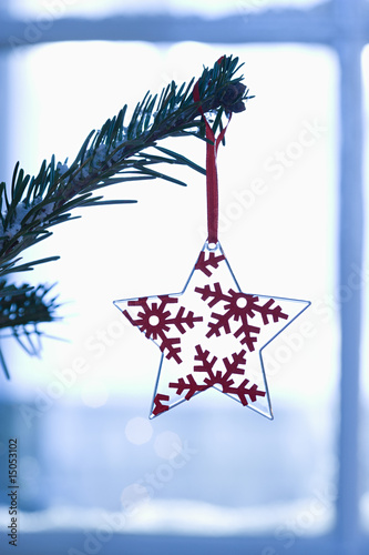Christmas decoration, close-up