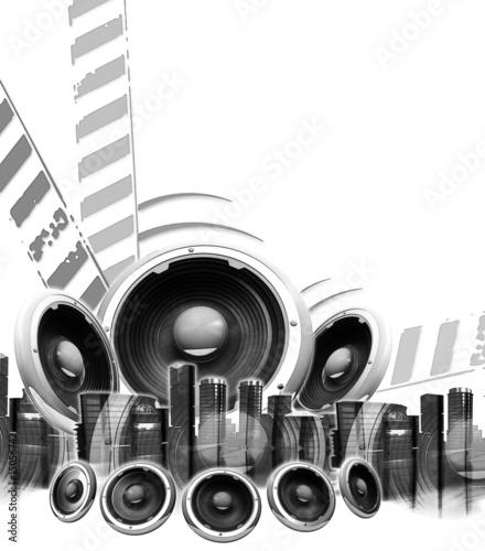 czarno-bialy-plakat-z-muzyka-blokowa