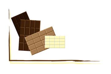 Pagina stecche cioccolato