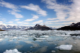 Columbia Glacier melting poster