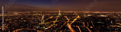 Fototapeta Panorama Paris