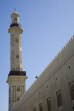 uae dubai the grand mosque and minaret in bur dubai