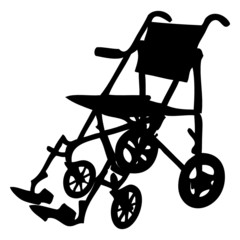 Fauteuil roulant - Wheelchair