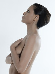 asian naked portrait woman