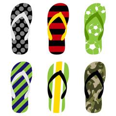 beach sandals set1