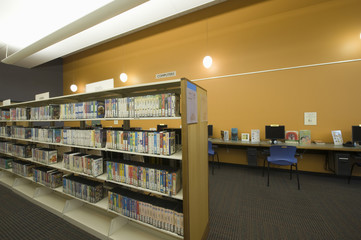 Library reading room