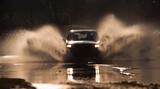 Fototapeta samochód - przejazd - Sporty motorowe